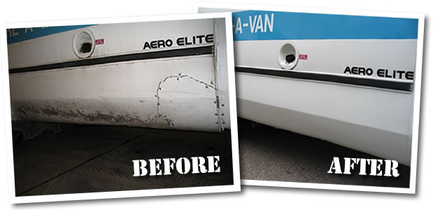commercial vehicle rust restoration